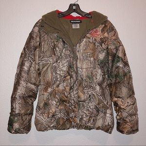 NEW Woman's M RealTree Camouflage Coat
